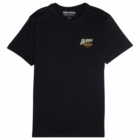 Billabong T-Shirt Mare Aloha Nero Uomo