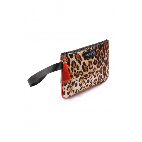 4giveness Pochette Mare Animalieu Marrone Donna