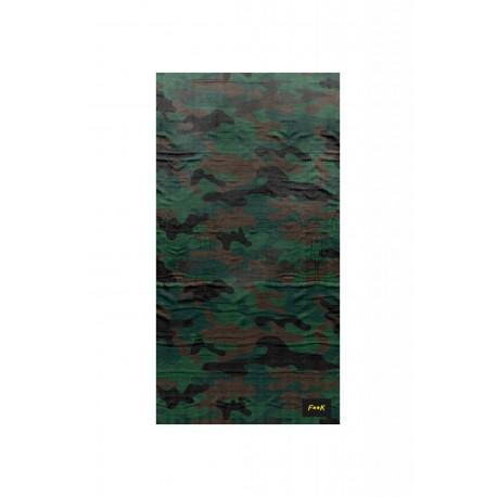 Effek Telo Mare Camou Verde Militare Unisex