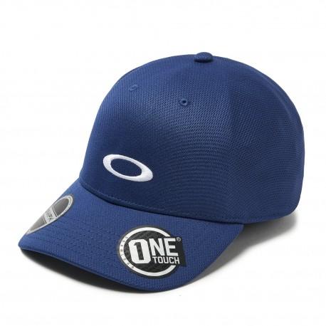 Oakley Cappello Mare Tessuto Tecnico Blu Uomo
