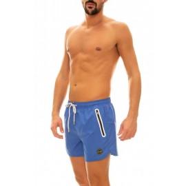 Effek Pantaloncini Mare Corto Con Tasca Blu Reale Uomo