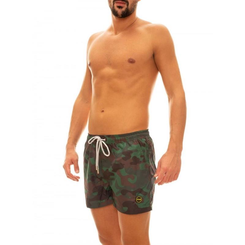 Effek Costume Boxer Verde Militare Uomo