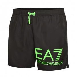 Ea7 Costume Boxer Nero Uomo