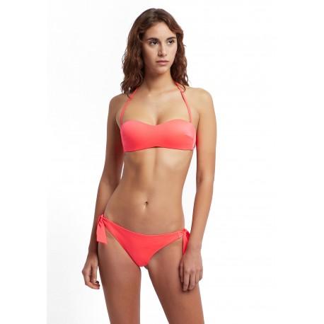 Ea7 Bikini Fascia Rosso Donna