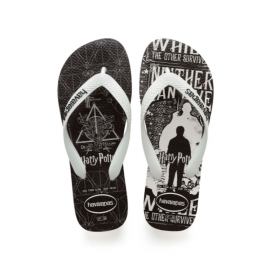 Havaianas Infradito Mare Top Harry Potter Nero Bianco Unisex