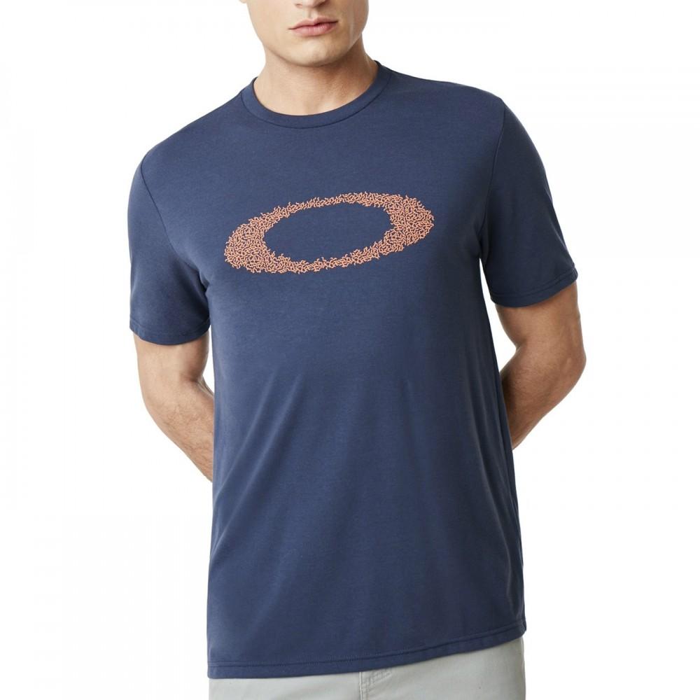 Oakley T Shirt Mare Logo Blu Uomo Acquista online su Sportland
