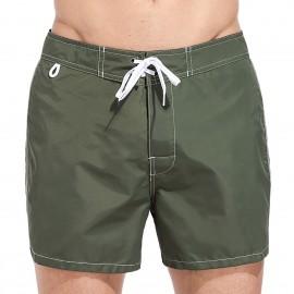 Sundek Costume Boxer Basico Verde Militare Uomo