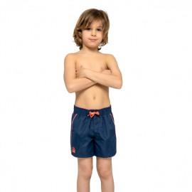 Sundek Pantaloncini Mare Con Elastico Blu Bambino