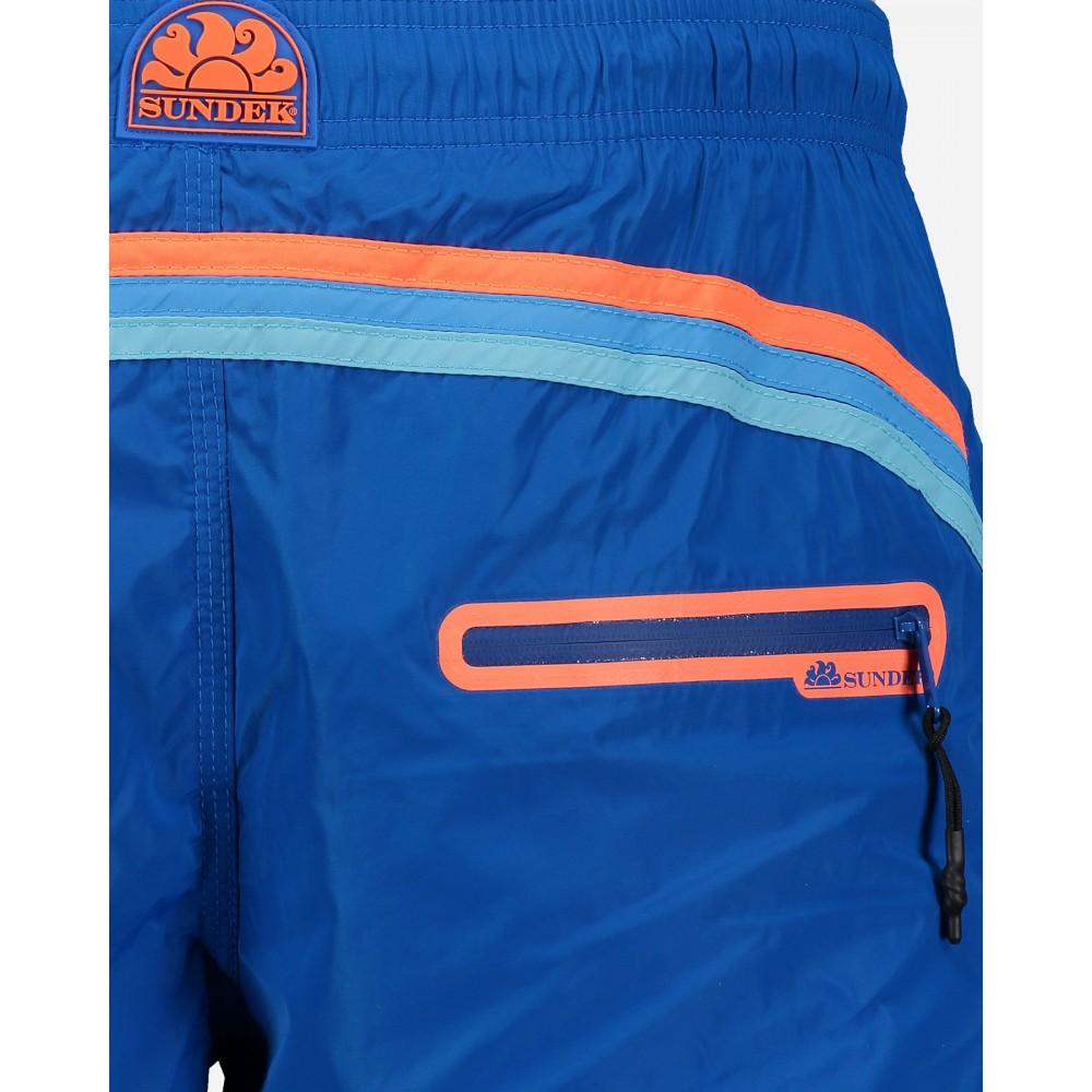 61fd045fc751 Sundek Costume Boxer Corto Leggero Blu Uomo - Acquista online su ...