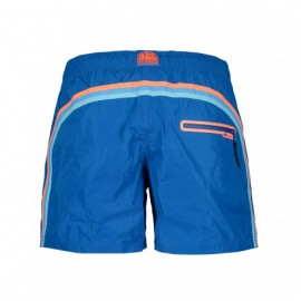 Sundek Costume Boxer Corto Leggero Blu Uomo