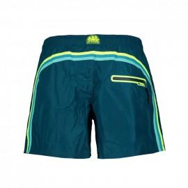 Sundek Costume Boxer Corto Leggero Verde Uomo