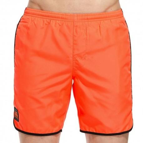 Sundek Costume Boxer Con Elastico Arancione Fluo Uomo