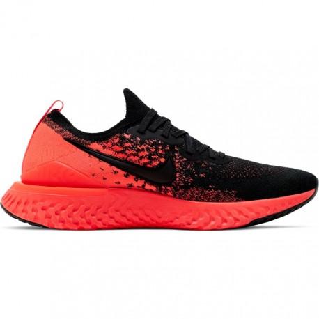 Nike Scarpe Running Epic React Flyknit 2 Nero Uomo