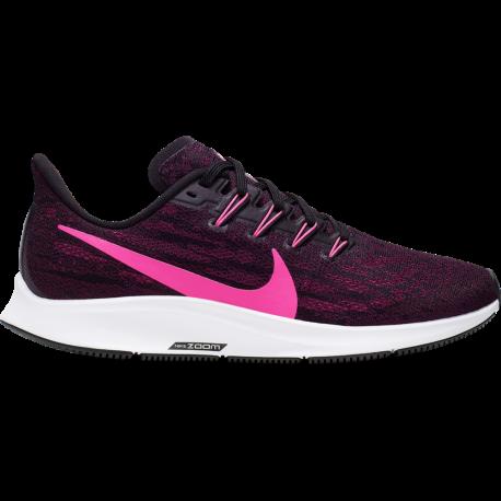 Nike Scarpe Running Air Zoom Pegasus 36 Nero Rosa Donna