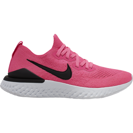 Nike Scarpe Running Epic React Flyknit 2 Rosa Nero Donna
