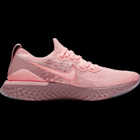 Nike Scarpe Running Epic React Flyknit 2 Rosa Donna