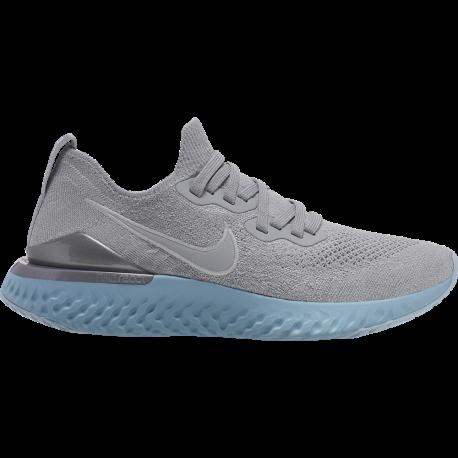 Nike Scarpe Running Epic React Flyknit 2 Grigio Donna