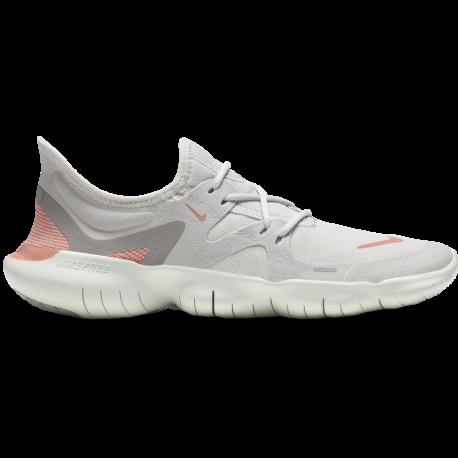 Nike Scarpe Running Free Rn 5.0 Grigio Rosa Donna