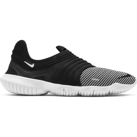 Nike Scarpe Running Free Rn Flyknit 3.0 Nero Grigio Donna