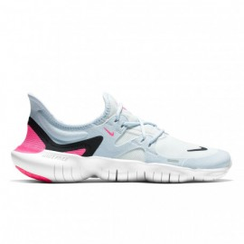 Nike Free Run 5.0 Bianco Nero Donna