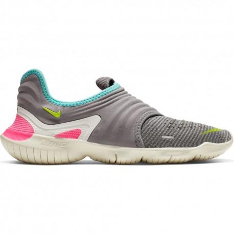 Nike Scarpe Running Free Rn Flyknit 3.0 Grigio Donna