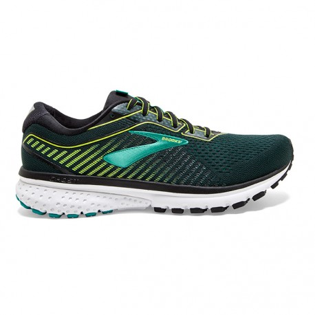 Brooks Scarpe Running Ghost 11 Nero Lime Uomo