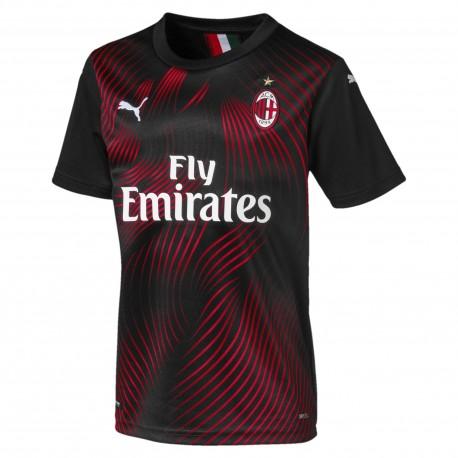 Puma Maglia Calcio Milan Third 19 20 Nero Bambino