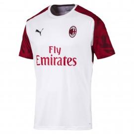 Puma Maglia Calcio Milan Training Bianco Red Uomo