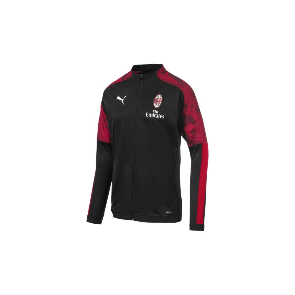 Puma Felpa Calcio Milan Poly Fz Nero Red Uomo Acquista