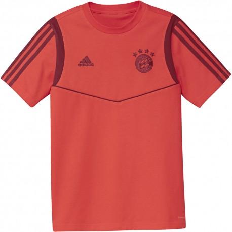 ADIDAS maglia calcio fcb rosso bambino