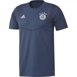 ADIDAS maglia calcio fcb blu uomo