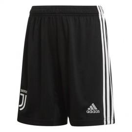 ADIDAS pantaloncini calcio juve home nero bianco uomo
