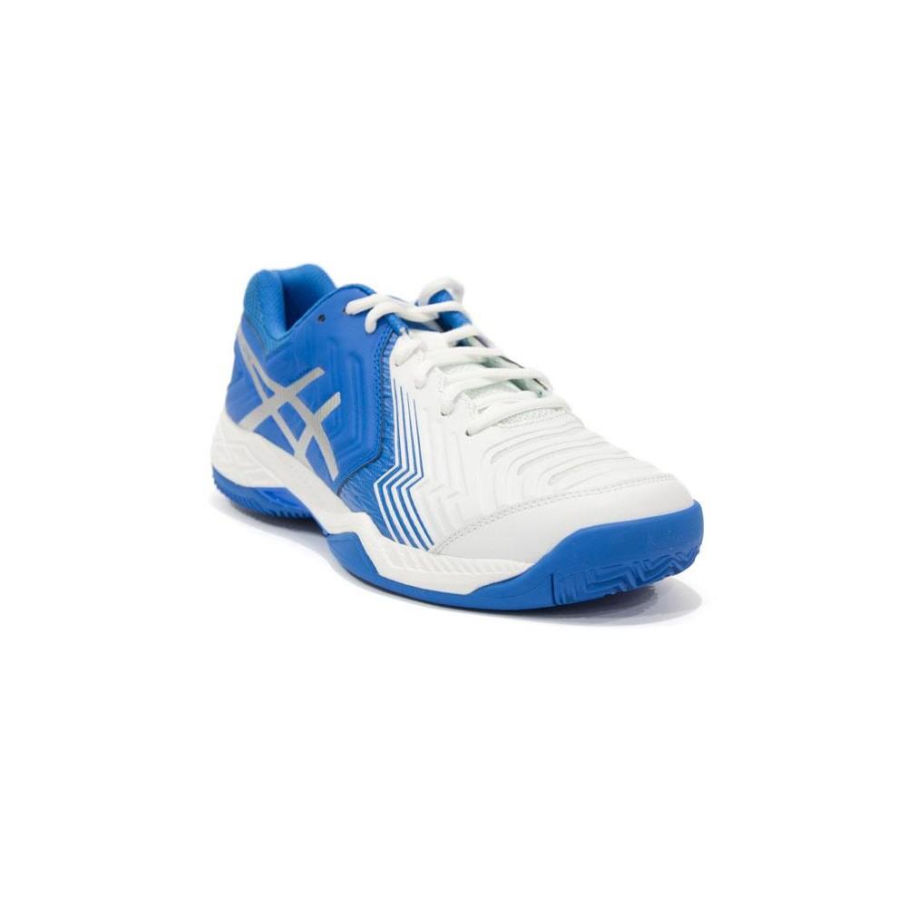 Asics Gel Game 6 Clay WhiteDirectoire Blue E706Y 0143