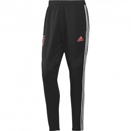 ADIDAS pantaloni allenamento calcio juve poly nero uomo