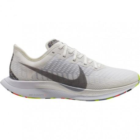 Nike Scarpe Running Zoom Pegasus Turbo 2 Bianco Grigio Donna