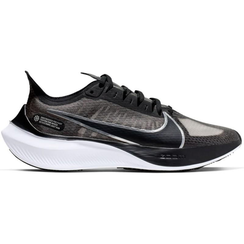 Nike Scarpe Running Zoom Gravity Nero Argento Donna