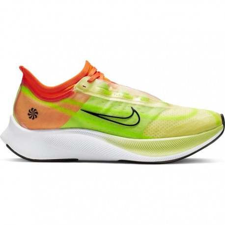Nike Scarpe Running Zoom Fly 3 Verde Nero Donna