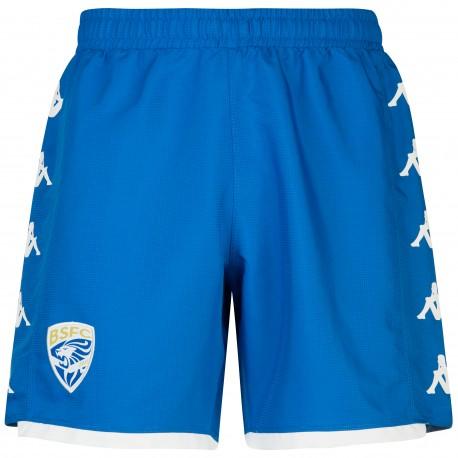 Kappa Pantaloncini Calcio Brescia Away Blu Royal Bianco Uomo