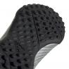 ADIDAS scarpe da calcio predator 19.4 tf argento nero bambino