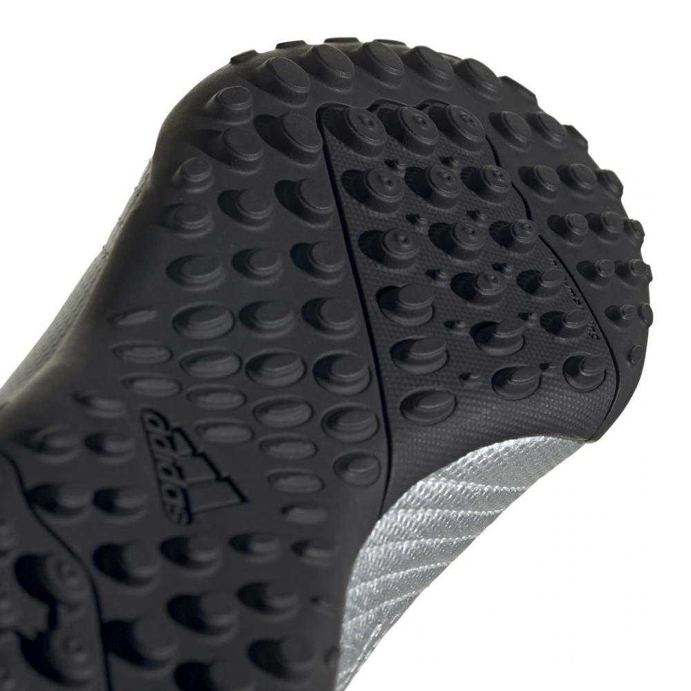 ADIDAS scarpe da calcio predator 19.4 tf argento nero