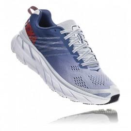 Hoka Scarpe Running Clifton 6 Blu Donna