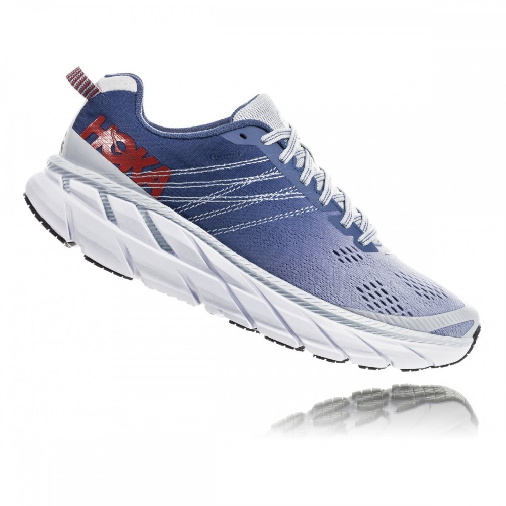 Hoka Scarpe Running Clifton 6 Wide Blu Donna Acquista
