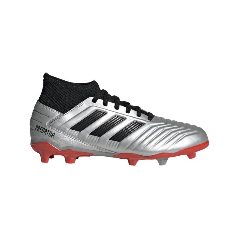 Adidas Scarpe Calcio Football con calzino 19.3 FG bambino Predator Nero