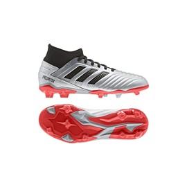ADIDAS scarpe da calcio predator 19.3 fg argento nero bambino