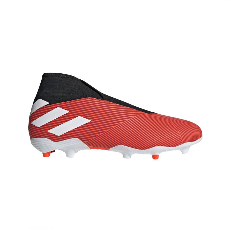 detailed look d9a41 b73d9 ADIDAS scarpe da calcio nemeziz 19.3 ll fg rosso bianco uomo