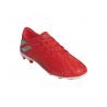 ADIDAS scarpe da calcio nemeziz 19.4 fxg rosso argento bambino