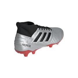ADIDAS scarpe da calcio predator 19.3 fg argento nero uomo
