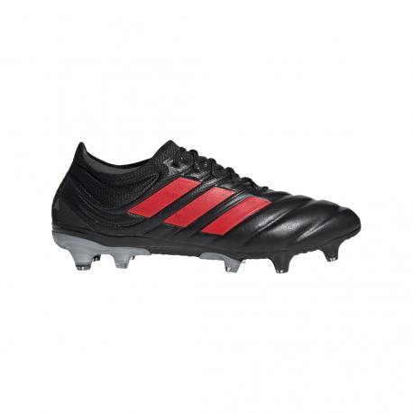 ADIDAS scarpe da calcio copa 19.1 fg nero rosso uomo