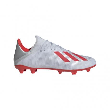 ADIDAS scarpe da calcio x 19.3 fg argento rosso uomo