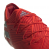 ADIDAS scarpe da calcio nemeziz 19.1 fg rosso argento uomo